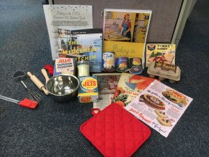 Baking in the 1950s items