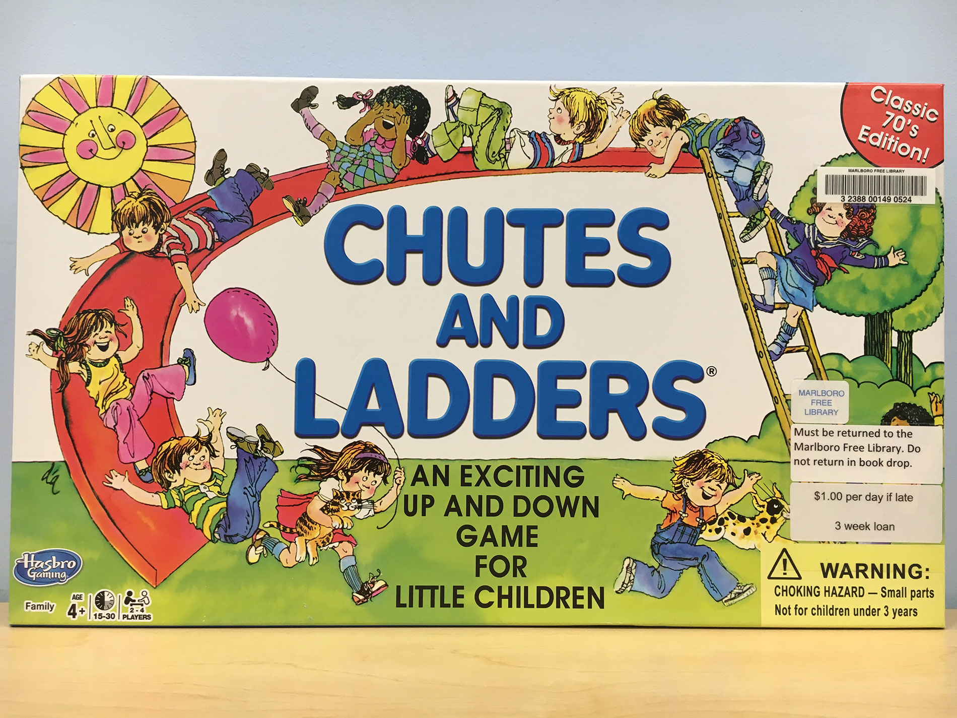 Chutes and Ladders for Website