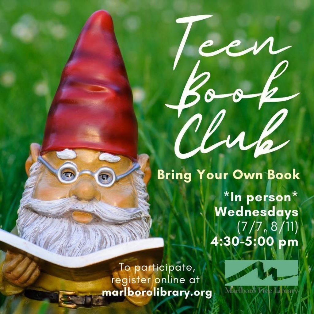 Teen Book Club 2021